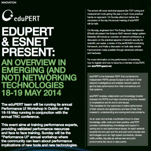 eduPERT-ESnet